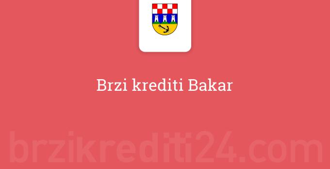 Brzi krediti Bakar