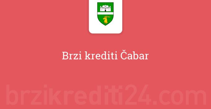 Brzi krediti Čabar