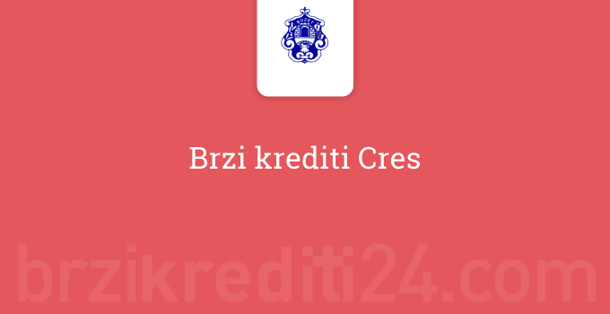 Brzi krediti Cres