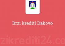 Brzi krediti Đakovo