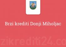 Brzi krediti Donji Miholjac