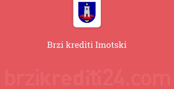 Brzi krediti Imotski