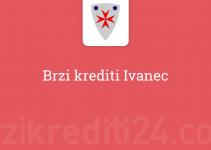 Brzi krediti Ivanec