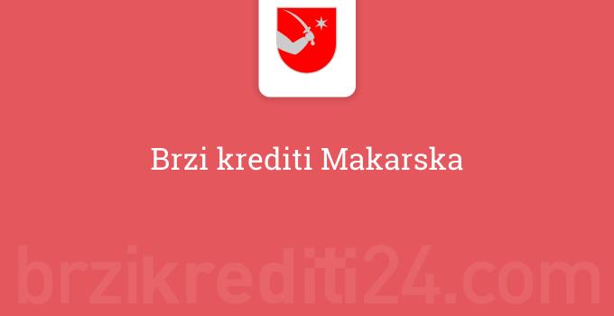 Brzi krediti Makarska