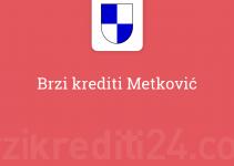 Brzi krediti Metković