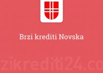 Brzi krediti Novska