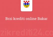 Brzi krediti online Bakar