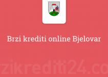 Brzi krediti online Bjelovar