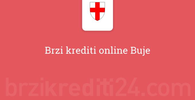 Brzi krediti online Buje
