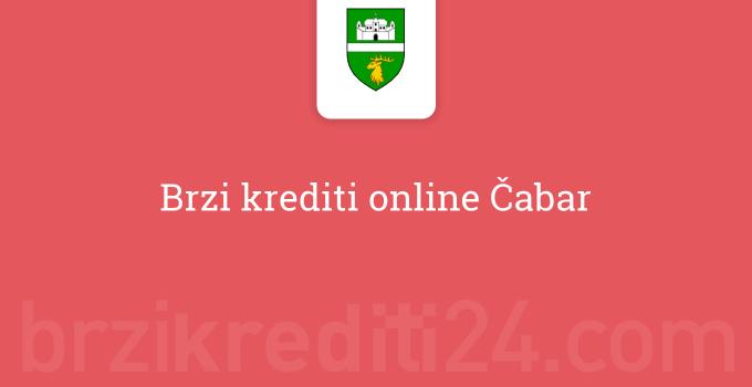 Brzi krediti online Čabar