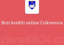 Brzi krediti online Crikvenica