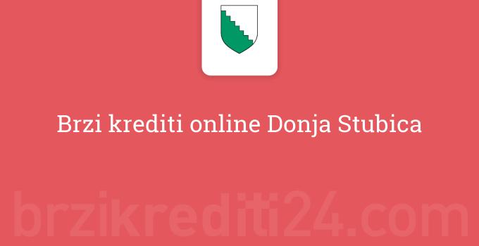 Brzi krediti online Donja Stubica