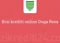 Brzi krediti online Duga Resa