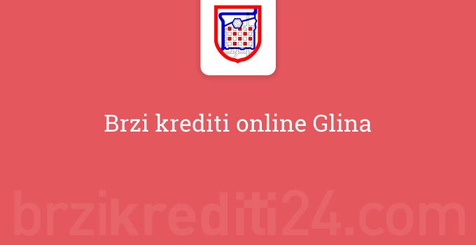 Brzi krediti online Glina