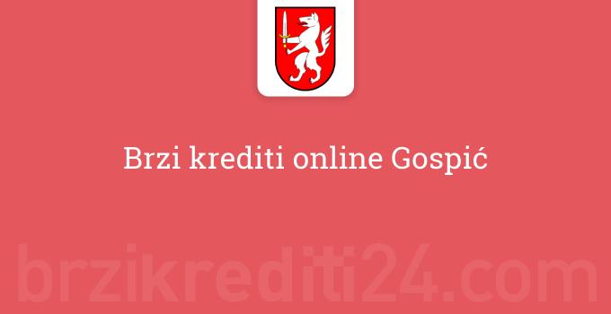 Brzi krediti online Gospić