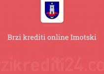 Brzi krediti online Imotski