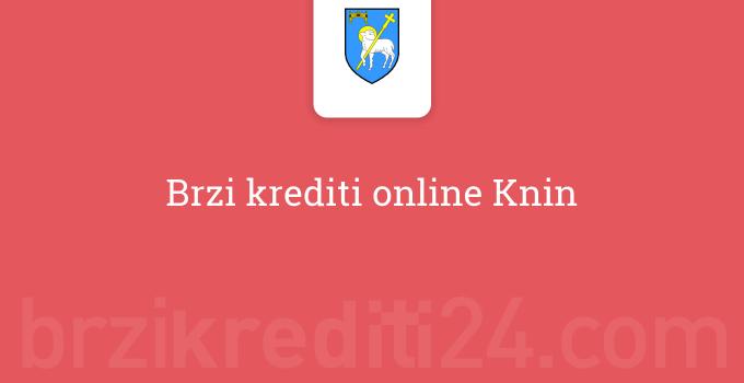 Brzi krediti online Knin