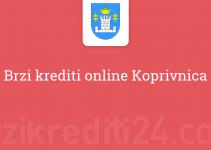 Brzi krediti online Koprivnica