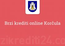 Brzi krediti online Korčula