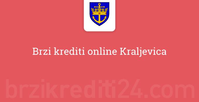 Brzi krediti online Kraljevica