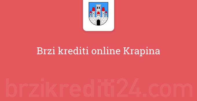 Brzi krediti online Krapina