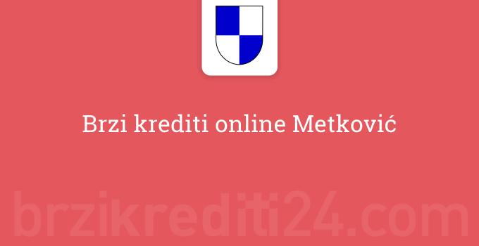 Brzi krediti online Metković