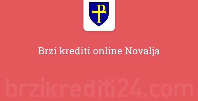 Brzi krediti online Novalja