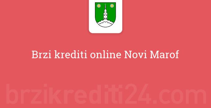 Brzi krediti online Novi Marof