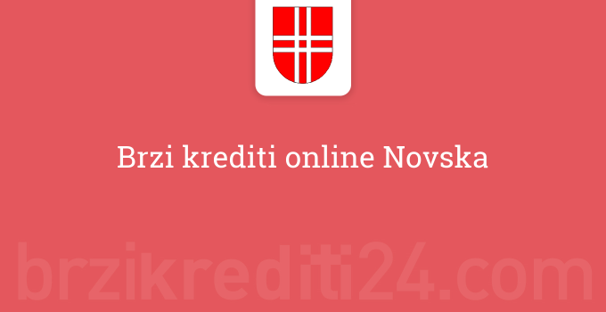 Brzi krediti online Novska