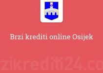 Brzi krediti online Osijek