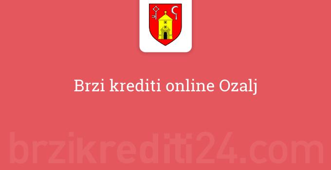 Brzi krediti online Ozalj