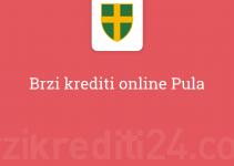 Brzi krediti online Pula