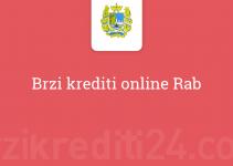 Brzi krediti online Rab