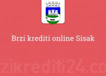 Brzi krediti online Sisak