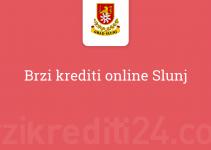 Brzi krediti online Slunj