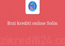 Brzi krediti online Solin