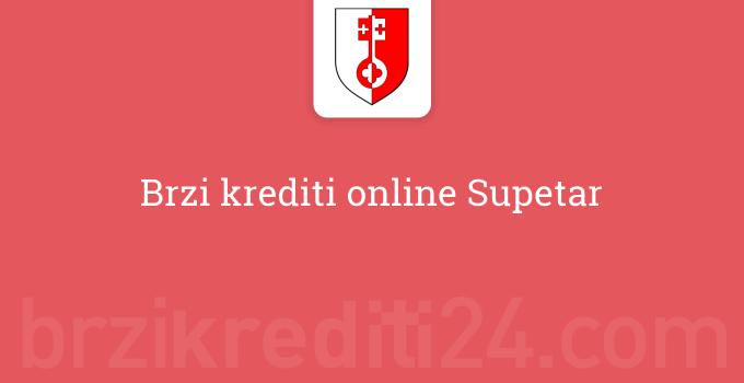 Brzi krediti online Supetar