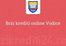 Brzi krediti online Vodice