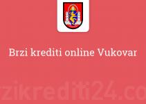 Brzi krediti online Vukovar