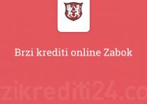 Brzi krediti online Zabok