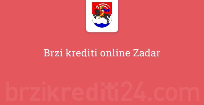 Brzi krediti online Zadar