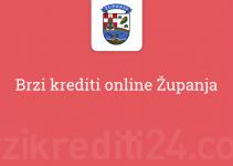 Brzi krediti online Županja