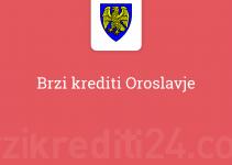 Brzi krediti Oroslavje