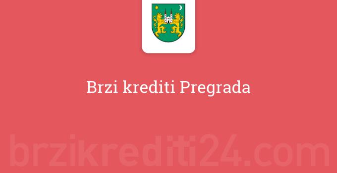 Brzi krediti Pregrada