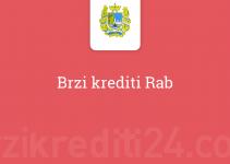 Brzi krediti Rab