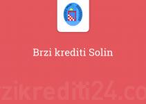 Brzi krediti Solin