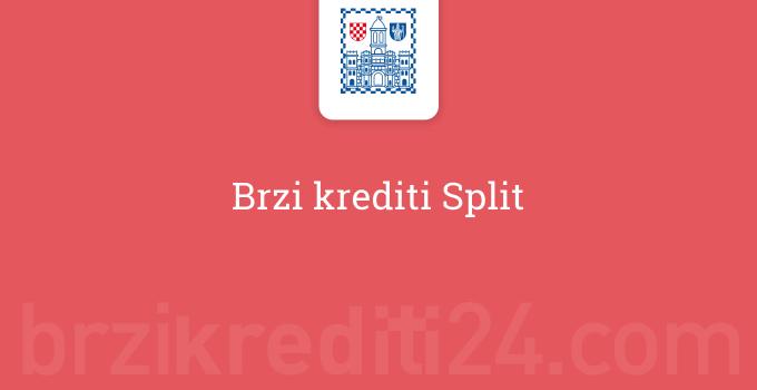 Brzi krediti Split