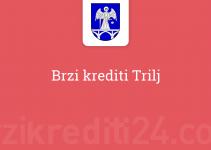 Brzi krediti Trilj