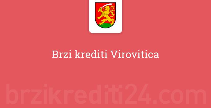 Brzi krediti Virovitica