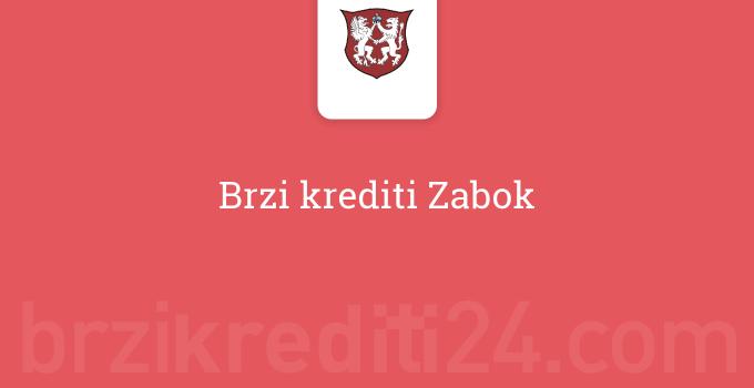 Brzi krediti Zabok